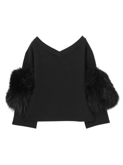 SLEEVE FUR TOP(CUSTOM) 02_M09