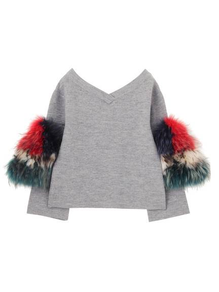 SLEEVE FUR TOP(CUSTOM) 02_M80