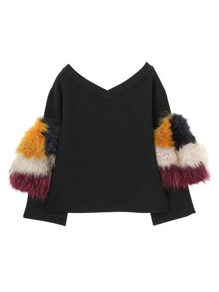 SLEEVE FUR TOP(CUSTOM) 02_M89