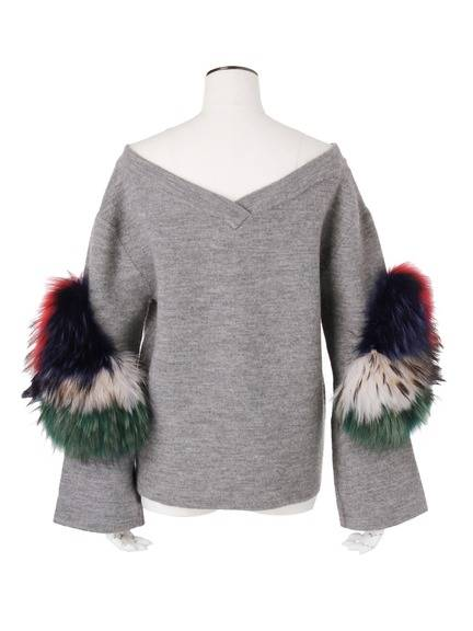 SLEEVE FUR TOP(CUSTOM) 03_006