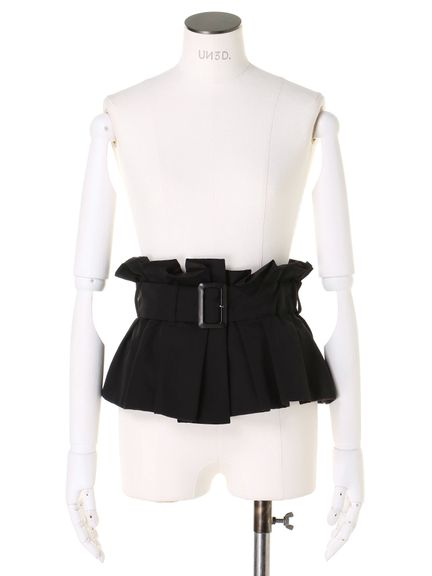 BUCKLE BUSTIER BELT 02_M09