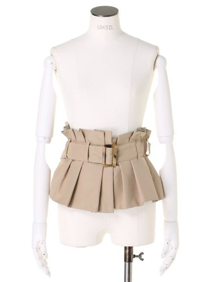 BUCKLE BUSTIER BELT 03_015