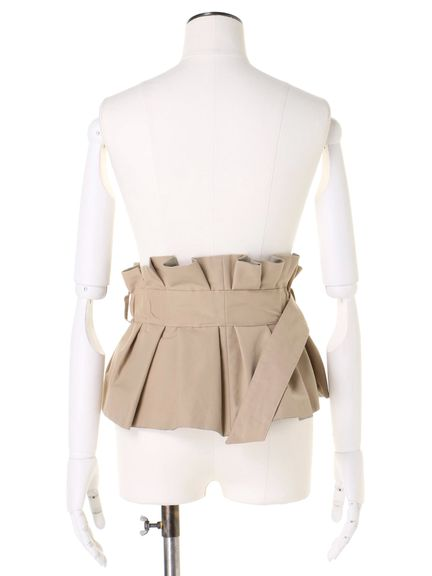 BUCKLE BUSTIER BELT 03_016
