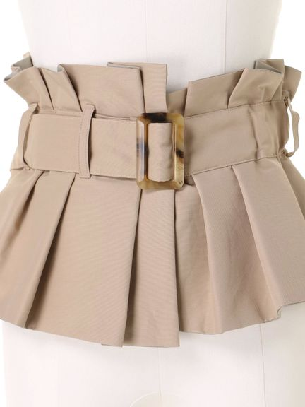 BUCKLE BUSTIER BELT 03_018