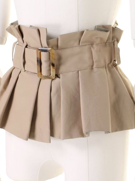 BUCKLE BUSTIER BELT 03_019